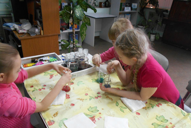 Выходные творчества. В городских библиотеках прошли мастер-классы для детей